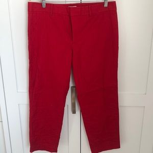 Never worn Club Monaco Red linen pants